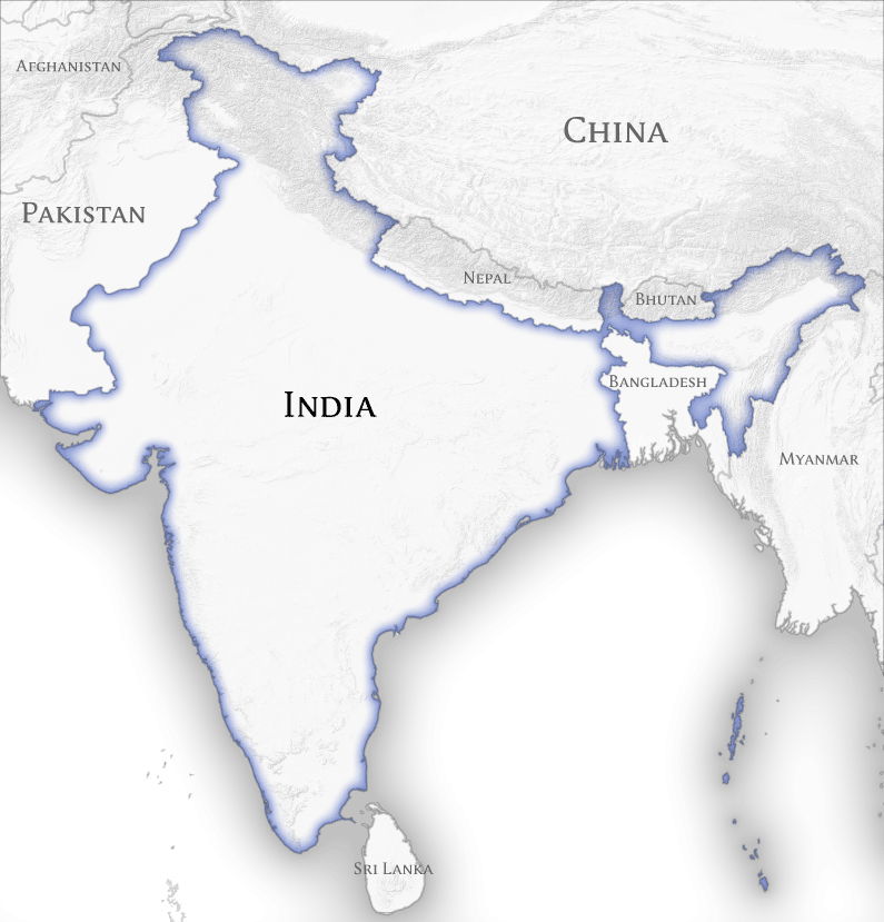 India And Its Neighbours - Modern History - BrainyIAS